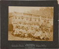 Baseball Collectibles:Photos, Circa 1907 Pittsburgh Pirates Team Cabinet Photograph....