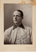 Autographs:Photos, 1904 Fred Clarke Signed Photograph by Carl Horner, PSA/DNA Gem Mint 10....