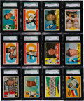 Baseball Cards:Lots, 1960 Topps Baseball Graded Collection (40) - An Exclusive SGC 96Mint 9 Assortment! ...