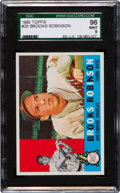Baseball Cards:Singles (1960-1969), 1960 Topps Brooks Robinson #28 SGC 96 Mint 9 - The Only SGC 96 Mint 9 on Record! ...