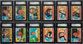 Baseball Cards:Sets, 1960 Topps Baseball Partial Set (151) - Every Card Graded SGC 88NM/MT 8! ...