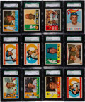 Baseball Cards:Lots, 1960 Topps Baseball Graded Collection (75) - An Exclusive SGC 92NM/MT+ 8.5 Assortment!...