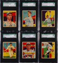 Baseball Cards:Lots, 1934-36 R327 Diamond Stars Baseball SGC 88 NM/MT 8 Collection(6)....