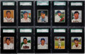 Baseball Cards:Lots, 1950 Bowman Baseball SGC 88 NM/MT 8 Collection (15)....