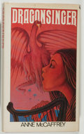 Books:Science Fiction & Fantasy, Anne McCaffrey. Dragonsinger. New York: Atheneum, 1977. First edition. Second book in the trilogy. Octavo. 264 p...