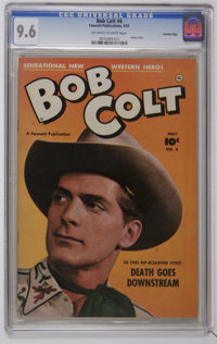 Bob Colt #4 Crowley Copy pedigree (Fawcett, 1951) CGC NM+ 9.6 Off-white to white pages. Photo cover. Back cover photo pi...