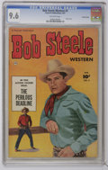 Golden Age (1938-1955):Western, Bob Steele Western #3 Crowley Copy pedigree (Fawcett, 1951) CGC NM+ 9.6 Off-white pages. Photo cover. Back cover photo pin-u...