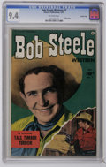 Golden Age (1938-1955):Western, Bob Steele Western #7 Crowley Copy pedigree (Fawcett, 1951) CGC NM 9.4 Off-white pages. Photo cover. Overstreet 2006 NM- 9.2...