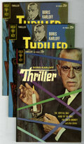 Silver Age (1956-1969):Horror, Boris Karloff Thriller #1 and 2 File Copies Group (Gold Key,1962-63) Condition: Average NM-. A very attractive group which ...(Total: 3 Comic Books)