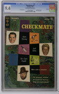 Silver Age (1956-1969):Mystery, Checkmate #1 File Copy (Gold Key, 1962) CGC NM 9.4 Off-white to white pages. Partial photo cover. Back cover pin-up. Jack Sp...