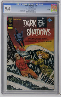 Dark Shadows #32 File Copy (Gold Key, 1975) CGC NM 9.4 Off-white to white pages. Joe Certa cover and art. Line drawn cov...