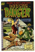 Golden Age (1938-1955):Adventure, Date With Danger #5 (#1) (Standard, 1952) Condition: FN/VF. Overstreet 2006 FN 6.0 value = $27; VF 8.0 value = $52....