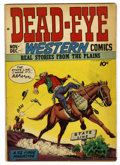 Golden Age (1938-1955):Western, Dead-Eye Western Comics V1#1 (Hillman Publications, 1948) Condition: VG+. Bernie Krigstein and George Roussos art. Overstree...