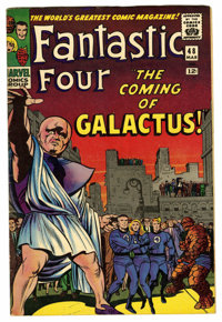 Fantastic Four #48 (Marvel, 1966) Condition: FN+. First appearances of the Silver Surfer and Galactus. The Inhumans and...