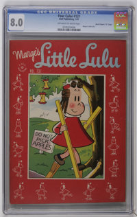 "Four Color #131 Marge's Little Lulu - Davis Crippen (""D"" Copy) pedigree (Dell, 1947) CGC VF 8.0 Off-white to w..."