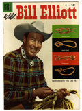Golden Age (1938-1955):Western, Four Color #643 Wild Bill Elliott (Dell, 1955) Condition: VF/NM. Photo cover. White pages. Overstreet 2006 VF/NM 9.0 value =...