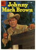 Silver Age (1956-1969):Western, Four Color #685 Johnny Mack Brown Circle 8 pedigree (Dell, 1956) Condition: VF+. Photo cover. Overstreet 2006 VF 8.0 value =...
