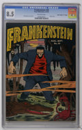 "Golden Age (1938-1955):Horror, Frankenstein Comics #20 Davis Crippen (""D"" Copy) pedigree (Prize,1952) CGC VF+ 8.5 Off-white pages. Dick Briefer classic co..."