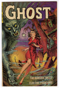 Ghost Comics #1 (Fiction House, 1951) Condition: FN/VF. The stunning Maurice Whitman cover seems to leap right off the p...