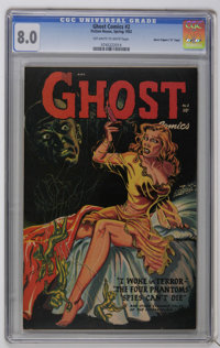 "Ghost #2 Davis Crippen (""D"" Copy) pedigree (Fiction House, 1952) CGC VF 8.0 Off-white to white pages. Ghost Ga..."
