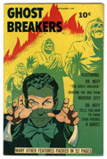 Golden Age (1938-1955):Horror, Ghost Breakers #1 (Street & Smith, 1948) Condition: FN-. BobPowell cover and art. Dr. Neff the magician appears. Overstreet...