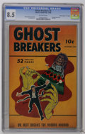 "Golden Age (1938-1955):Horror, Ghost Breakers #2 Davis Crippen (""D"" Copy) pedigree (Street &Smith, 1948) CGC VF+ 8.5 Off-white pages. Bob Powell shrunken ..."