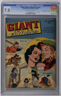 """Golden Age (1938-1955):Miscellaneous, Giant Comics Editions #1 Davis Crippen (""""D"""" Copy) pedigree (United Features Syndicate, 1940) CGC FN/VF 7.0 Cream to off-white ..."""