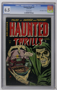 "Haunted Thrills #2 Davis Crippen (""D"" Copy) pedigree (Farrell, 1952) CGC FN+ 6.5 Off-white pages. L. B. Cole a..."