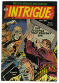 Golden Age (1938-1955):Horror, Intrigue #1 Circle 8 pedigree (Quality, 1955) Condition: FN/VF....