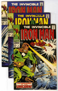 Silver Age (1956-1969):Superhero, Iron Man Group (Marvel, 1968-71) Condition: Average FN. Includes #4, 5, 8, 9 (vs. Hulk android), 13, and 36. George Tuska an... (Total: 6 Comic Books)
