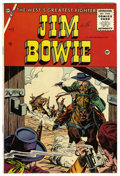 Silver Age (1956-1969):Western, Jim Bowie #17 (Charlton, 1956) Condition: NM- White pages. Overstreet 2006 NM- 9.2 value = $42....