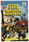 Silver Age (1956-1969):Western, Jim Bowie #19 (Charlton, 1957) Condition: NM- White pages. Overstreet 2006 NM- 9.2 value = $42....