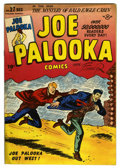"Golden Age (1938-1955):Adventure, Joe Palooka Comics #27 Davis Crippen (""D"" Copy) pedigree (Harvey, 1948) Condition: VF-. Ham Fisher cover. Bob Powell art. Li..."
