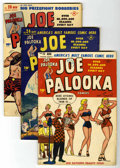Golden Age (1938-1955):Humor, Joe Palooka Comics Group (Harvey, 1948-49). Includes #23 (GD), 24 (FN), 26 (FN+), 33 (VF-), and 37 (FN/VF). Art by Ham Fishe... (Total: 5 Comic Books)
