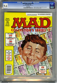 Mad Special #94 (EC, 1994) CGC NM+ 9.6 White pages. Collector's Series #7. Includes Mad sweepstakes and postage stamps...