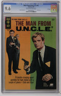 Silver Age (1956-1969):Adventure, Man from U.N.C.L.E. #12 File Copy (Gold Key, 1967) CGC NM+ 9.6 Off-white to white pages. Robert Vaughn and David McCallum ph...
