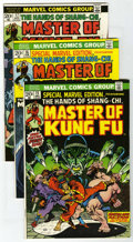 Bronze Age (1970-1979):Miscellaneous, Marvel Martial Arts Group (Marvel, 1973-75) Condition: AverageFN/VF. Includes Special Marvel Edition #15 (first appeara...(Total: 7 Comic Books)