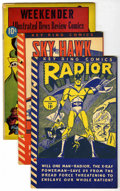 Golden Age (1938-1955):Miscellaneous, Miscellaneous Golden Age Comics Group and More (Various Publishers, 1941-58). Includes True Comics #82 (Overstreet says ... (Total: 8 Comic Books)