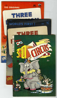 Miscellaneous Golden Age 3D Group (Various Publishers, 1953-54). The first 3D comic is featured in this group which Incl...