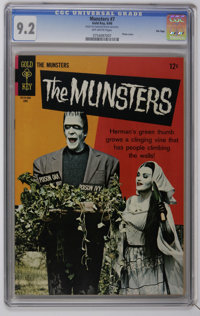 Munsters CGC File Copy Group (Gold Key, 1966-67) CGC NM- 9.2. Consists of CGC NM- 9.2 copies of #7, 11, 13, and 15. All...