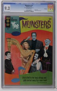 Munsters #12-15 CGC File Copy Group (Gold Key, 1967) CGC NM- 9.2. Contains CGC NM- 9.2 copies of #12, 13, 14, and 15. Al...