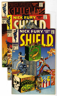 Nick Fury, Agent of SHIELD #1-18 Group (Marvel, 1968-71) Condition: Average FN. A complete run that includes #1, 2, 3, 4...