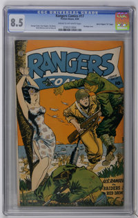 "Rangers Comics #17 Davis Crippen (""D"" Copy) pedigree (Fiction House, 1944) CGC VF+ 8.5 Cream to off-white page..."