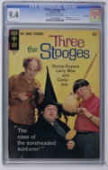 Silver Age (1956-1969):Humor, Three Stooges #23 File Copy (Gold Key, 1965) CGC NM 9.4 Off-white to white pages. Photo cover. Little Monsters backup story....