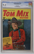 Golden Age (1938-1955):Western, Tom Mix Western #44 Crowley Copy pedigree (Fawcett, 1951) CGC NM- 9.2 Off-white pages. Photo cover. Overstreet 2006 NM- 9.2 ...