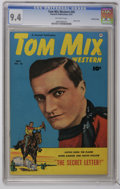 Golden Age (1938-1955):Western, Tom Mix Western #45 Crowley Copy pedigree (Fawcett, 1951) CGC NM 9.4 Off-white pages. Photo cover. Overstreet 2006 NM- 9.2 v...