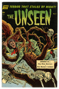 Golden Age (1938-1955):Horror, The Unseen #5 (Standard, 1952) Condition: Apparent FN. Alex Tothart. Horror stories. Amateur color touch to cover. Skull co...