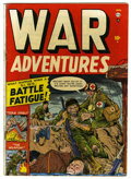 Golden Age (1938-1955):War, War Adventures #1 (Atlas, 1952) Condition: VG+. George Tuska art. Overstreet 2006 VG 4.0 value = $34....