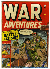 War Adventures #1 (Atlas, 1952) Condition: VG+. George Tuska art. Overstreet 2006 VG 4.0 value = $34