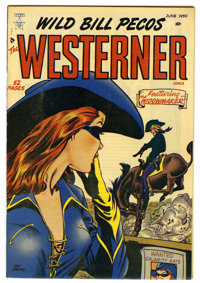 The Westerner (Wild Bill Pecos) #27 Mile High pedigree (Toytown, 1950) Condition: NM. Bernie Krigstein art. Overstreet 2...